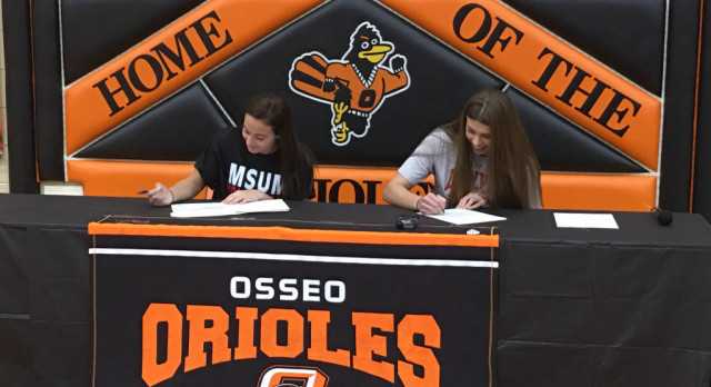 Boe, Hoyt Sign Letters of Intent (Video)