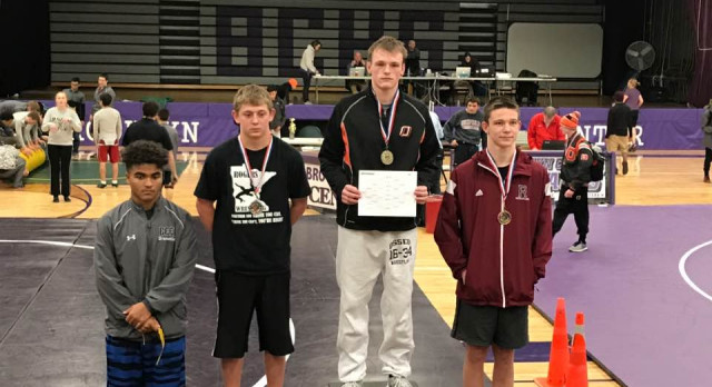 Oriole Wrestlers on the Rise