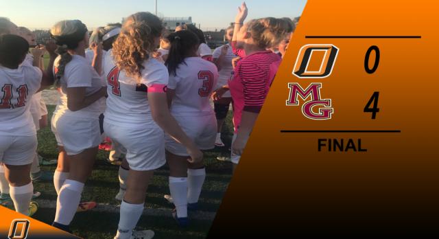 Osseo High School Girls Varsity Soccer falls to Maple Grove 4-0