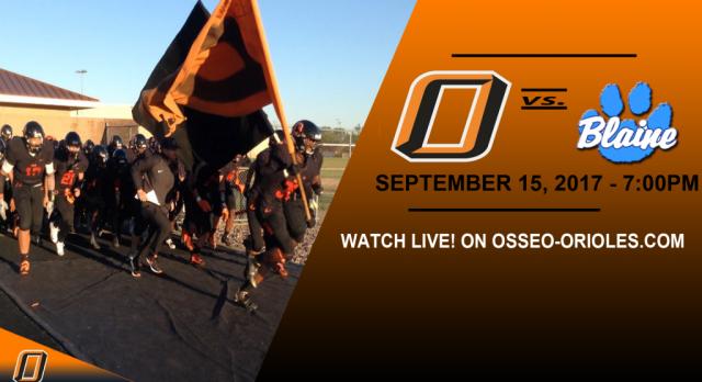 GAMEDAY: Osseo vs. Blaine – WATCH LIVE!