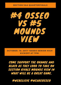 Osseo vs Moundsview
