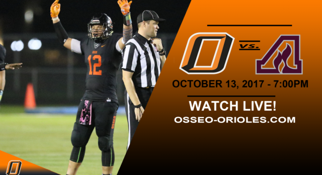 Friday Night Lights: Osseo vs. Anoka – Watch LIVE!
