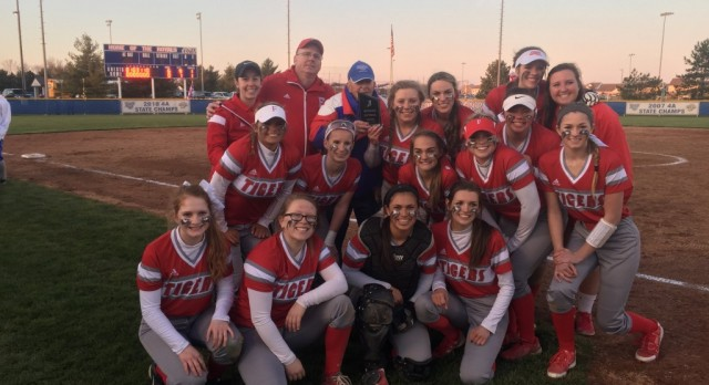 Varsity Softball beat Hamilton Southeastern High School 6-0