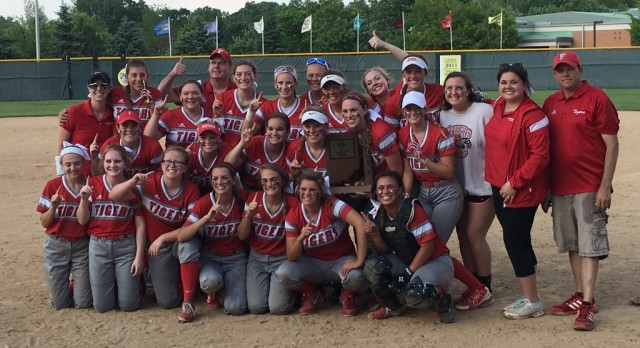 Varsity Softball wins @IHSAA1 Sectional