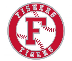 Fishers Tigers Baseball Circle F Logo