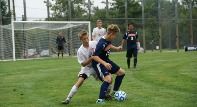 Boys Varsity Soccer falls to Harrison High School 2-0