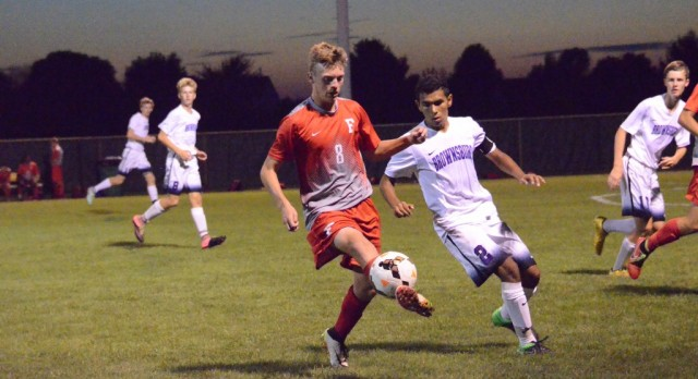 Boys Varsity Soccer beat Brownsburg High School 3-2