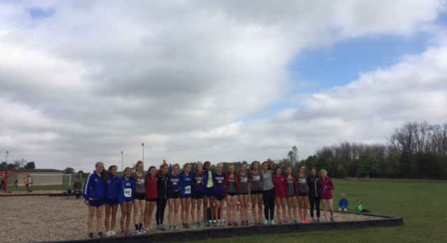 Girls Varsity Cross Country finishes 3rd place