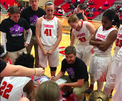 Girls Varsity Basketball falls to Noblesville 81-58