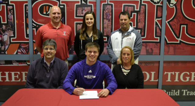 Taylor Soper signs to play baseball & football @KWCPanthers