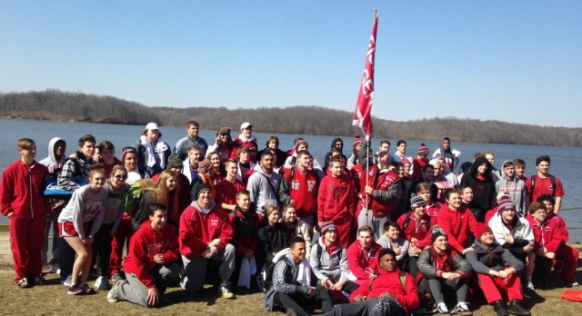 The Freezin' Fishers Tigers set the standard at Special Olympics Polar Plunge