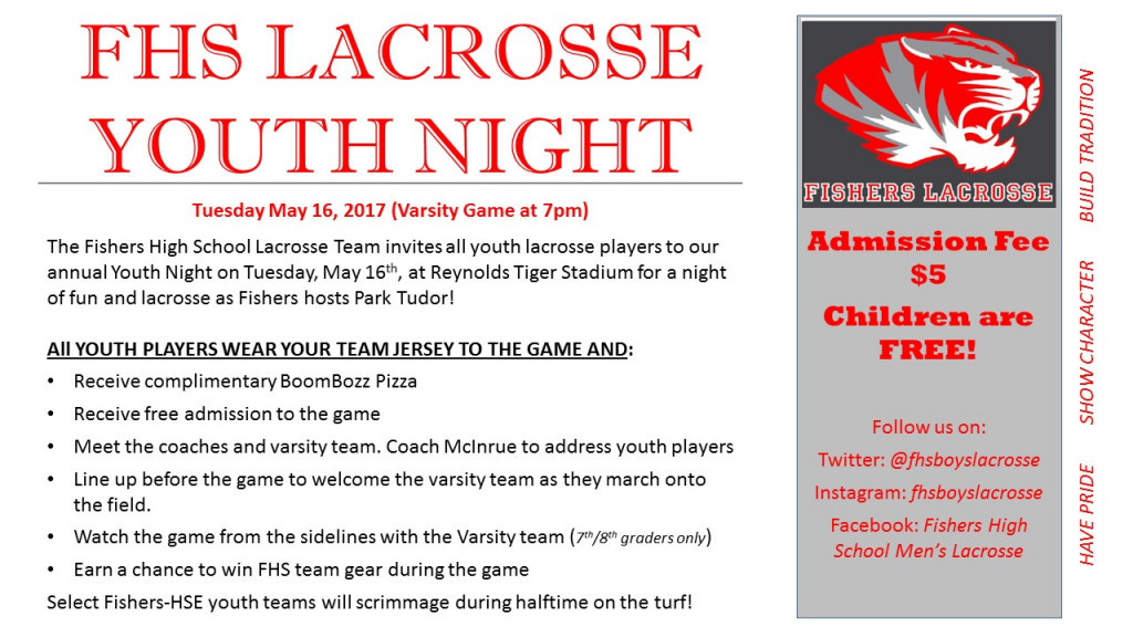 2017 Youth Night Flyer