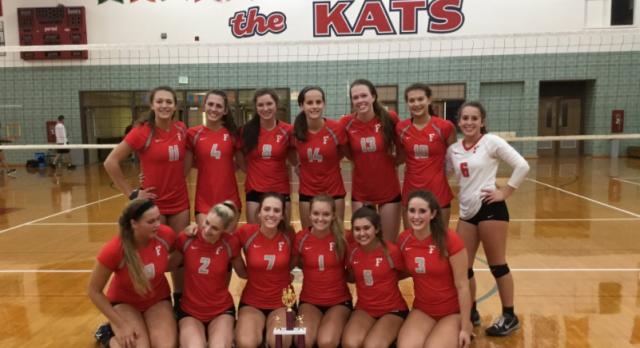 Girls Varsity Volleyball beat Hamilton Southeastern High School 2-0