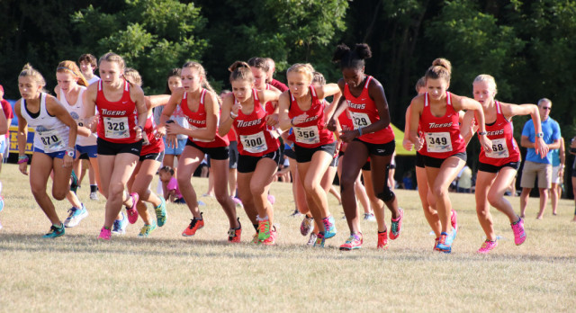 Fishers High School Girls Varsity Cross Country finishes 4th place