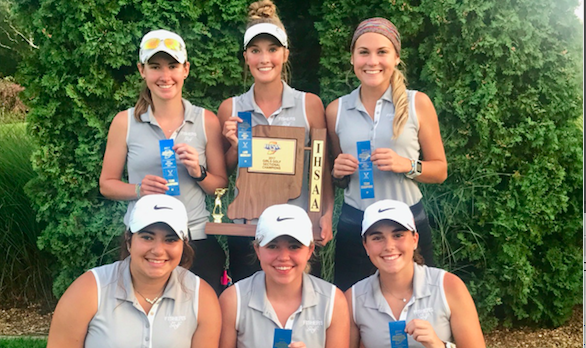 Girls Varsity Golf finishes 1st place