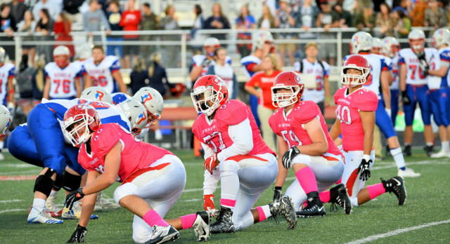 Fishers High School Varsity Football falls to Roncalli High School 28-17