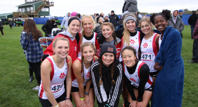 Girls Varsity Cross Country finishes 6th place
