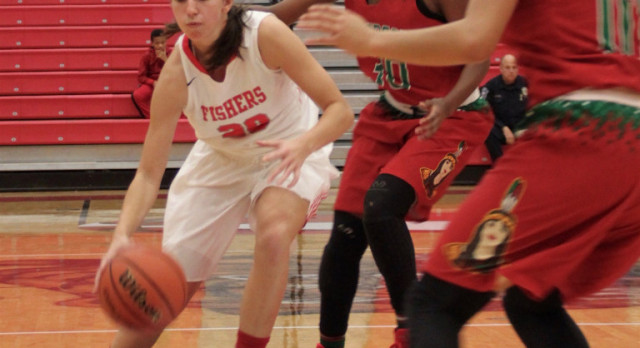 Fishers High School Girls Varsity Basketball beat Anderson High School 57-37