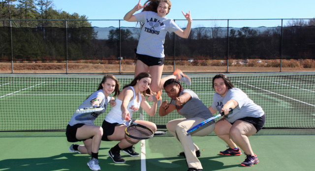 Tennis Senior Day is March 21st