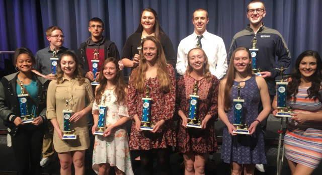 Winter Sports Award Winners