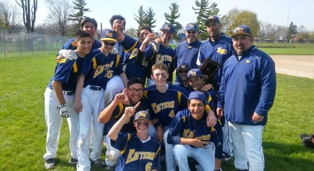 Varsity Baseball Wins Capital City Showdown