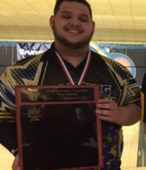 Quaker Bowler Takes 1st In CAAC