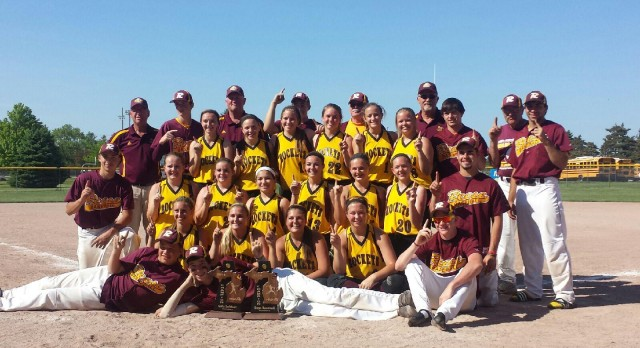 Baseball and Softball take home District Championships