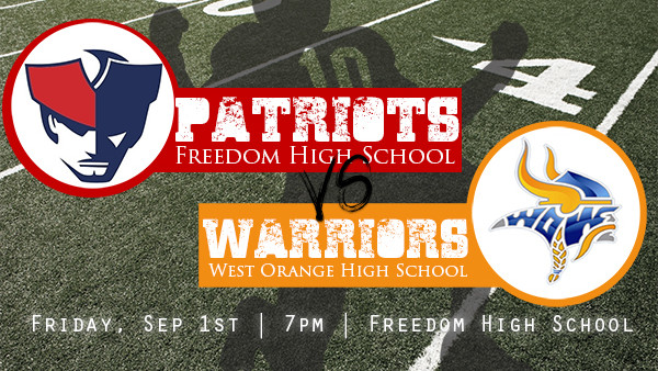 FHS Football Promo_West Orange