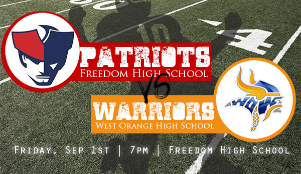 Friday Night Lights: Patriots Host West Orange