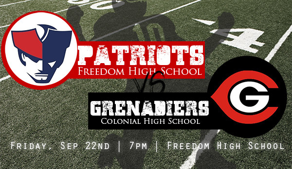 Homecoming: Freedom vs Colonial – Friday 7pm