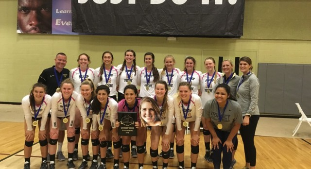 Girls' Volleyball Take the Gold Division in Arizona