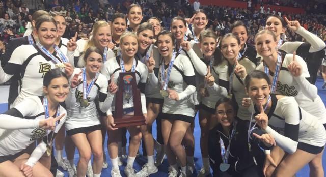 Bishop Moore Cheerleaders – STATE CHAMPIONS!
