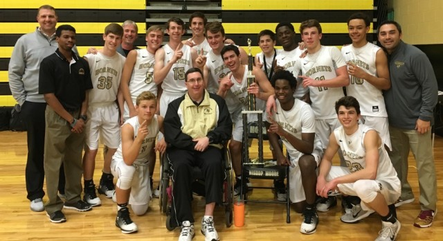 Boys Basketball wins the Jim Clark Classic