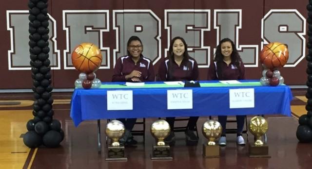 Lee Girls Basketball Signings