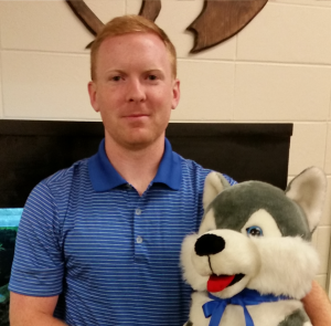 Activites and Facilities Assistant, Brian Skelly.