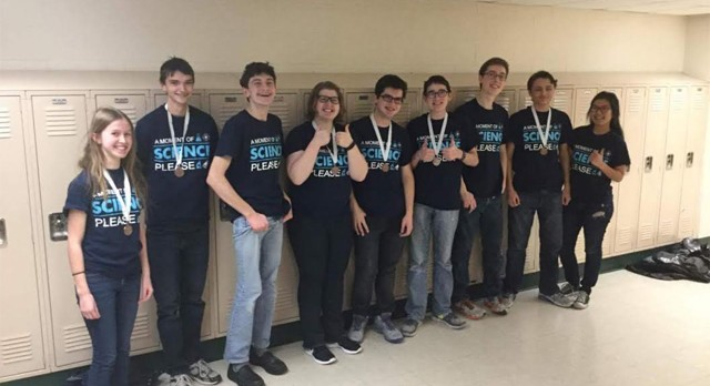 Science Olympiad Qualifies for State Competition