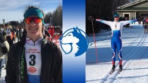 12th grade Nordic skier, Xavier Mansfield.