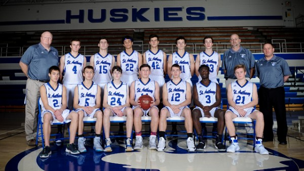 Boys Basketball 2017 team shot