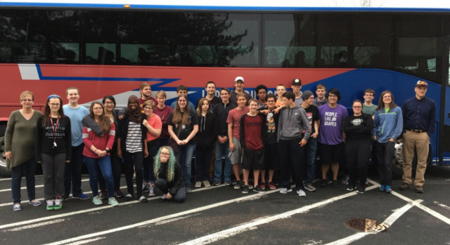 RoboHuskie Hits the Road – Headed to Nationals!