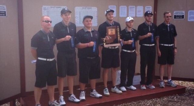 Trojan golfers repeat as sectional champions