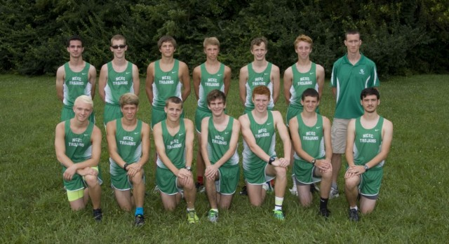 New Castle High School Boys Varsity Cross Country finishes 8th place