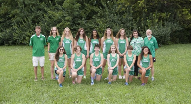 New Castle High School Girls Varsity Cross Country finishes 10th place
