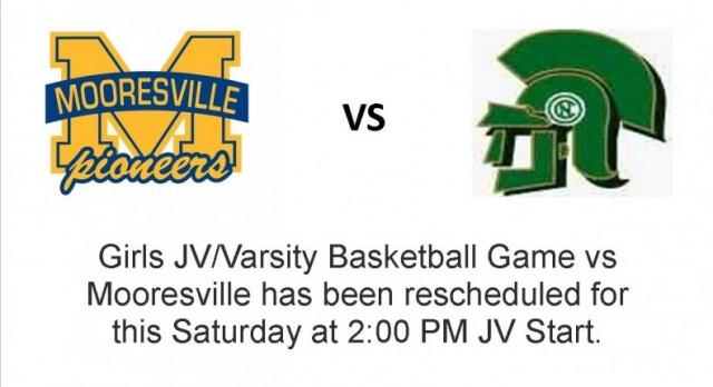 Girls Basketball vs. Mooresville Tip off at 2