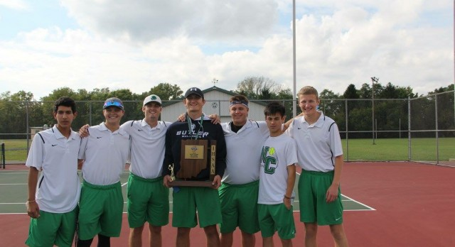 New Castle High School Boys Varsity Tennis beat Knightstown High School 5-0