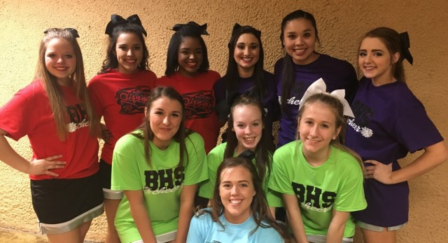 Beggs Cheer Pep-Squeakers steal the show!