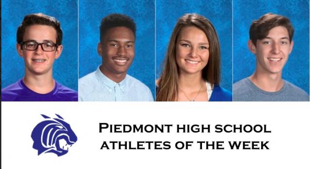 Piedmont Wildcat Spotlight Athletes