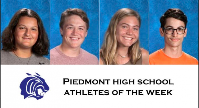 Piedmont Wildcat Athlete Spotlight