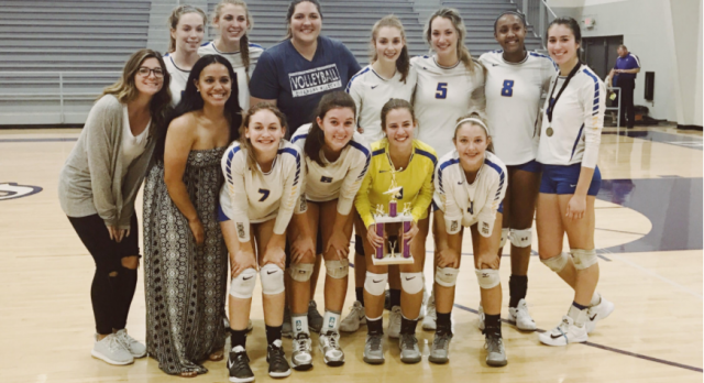 Volleyball Places 2nd at Tournament.