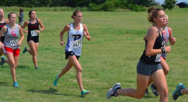 Cross country competes at PC West Invitational