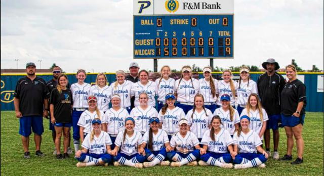 Piedmont Softball Wins Region Title